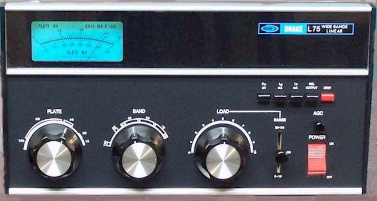 AL80 copy of Drake L75 amplifier