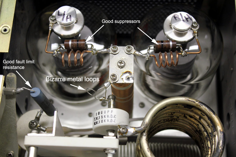 Modification Kenwood TL922 Amplifier suppressor