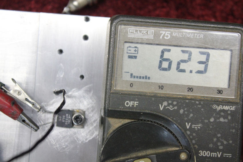 dielectric compound base temperature