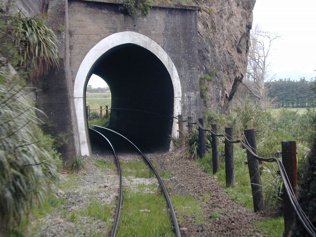 Tunnel in New Zealand